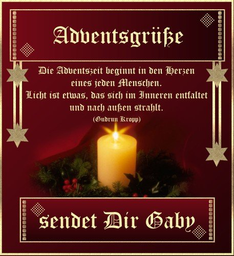 Grüße Zum Advent Bilder